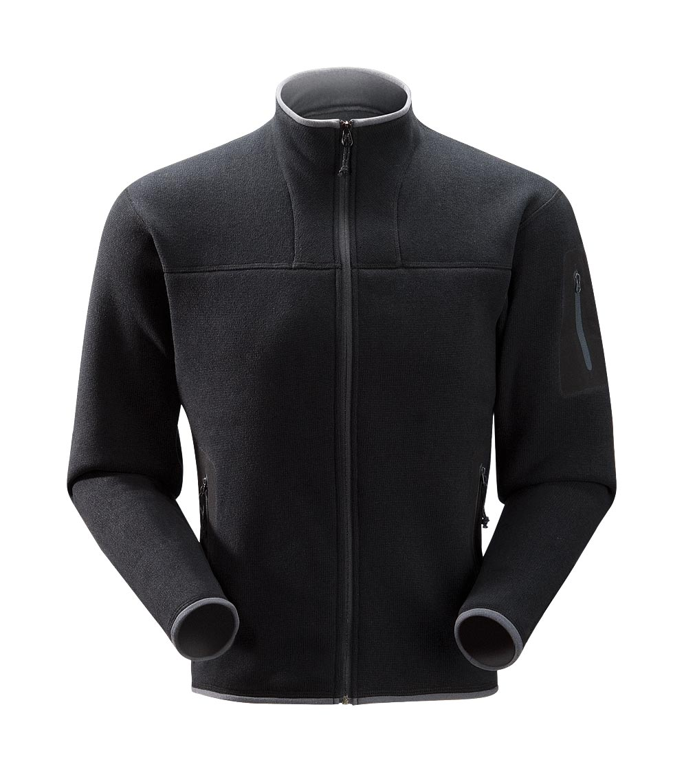 Arcteryx Black Covert Cardigan